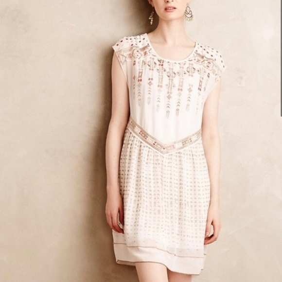 Anthropologie Dresses & Skirts - Host Pick! Anthro One September Embroidered Dress